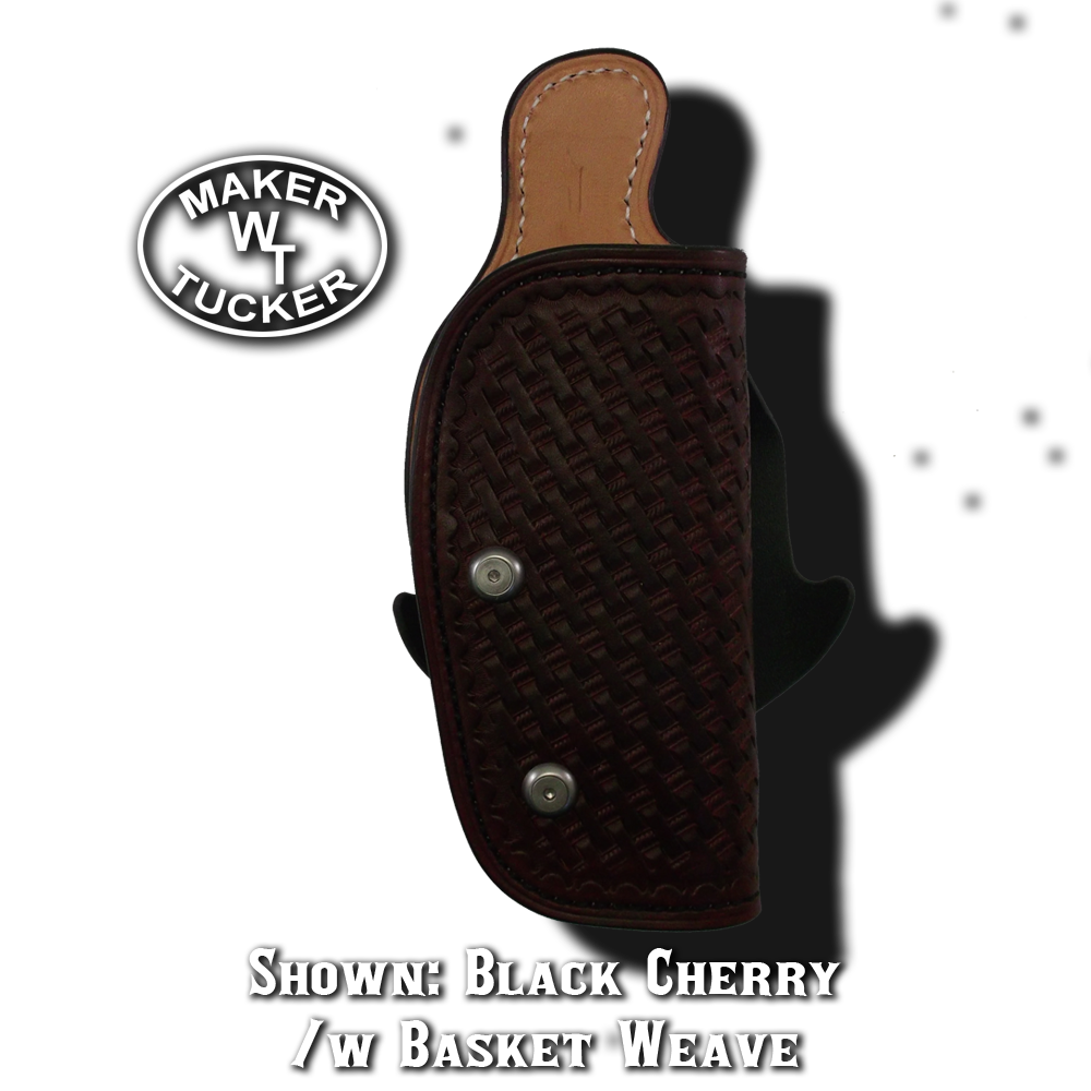 Leather Paddle Holster By Tucker Leather